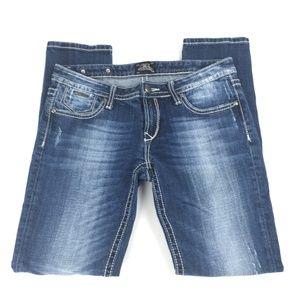 Rebock For Express Jeans Size 6s Short Skinny